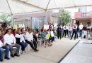 Intensa gira de trabajo realiza Oseguera por colonias de Ciudad Madero