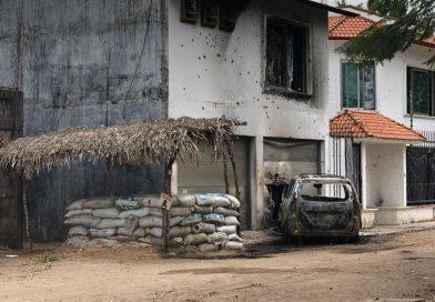Atacan base de Fuerza Civil en Veracruz